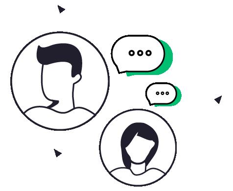 conversation graphics