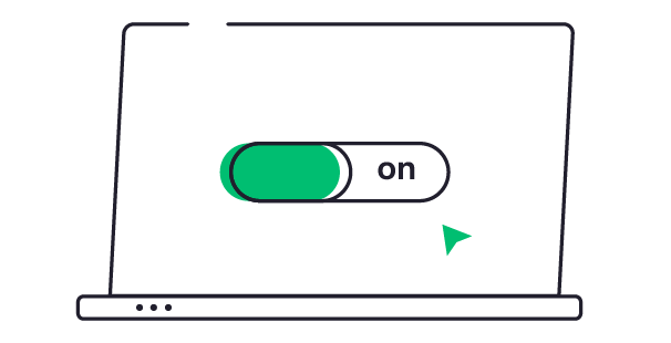 time tracking toggle button