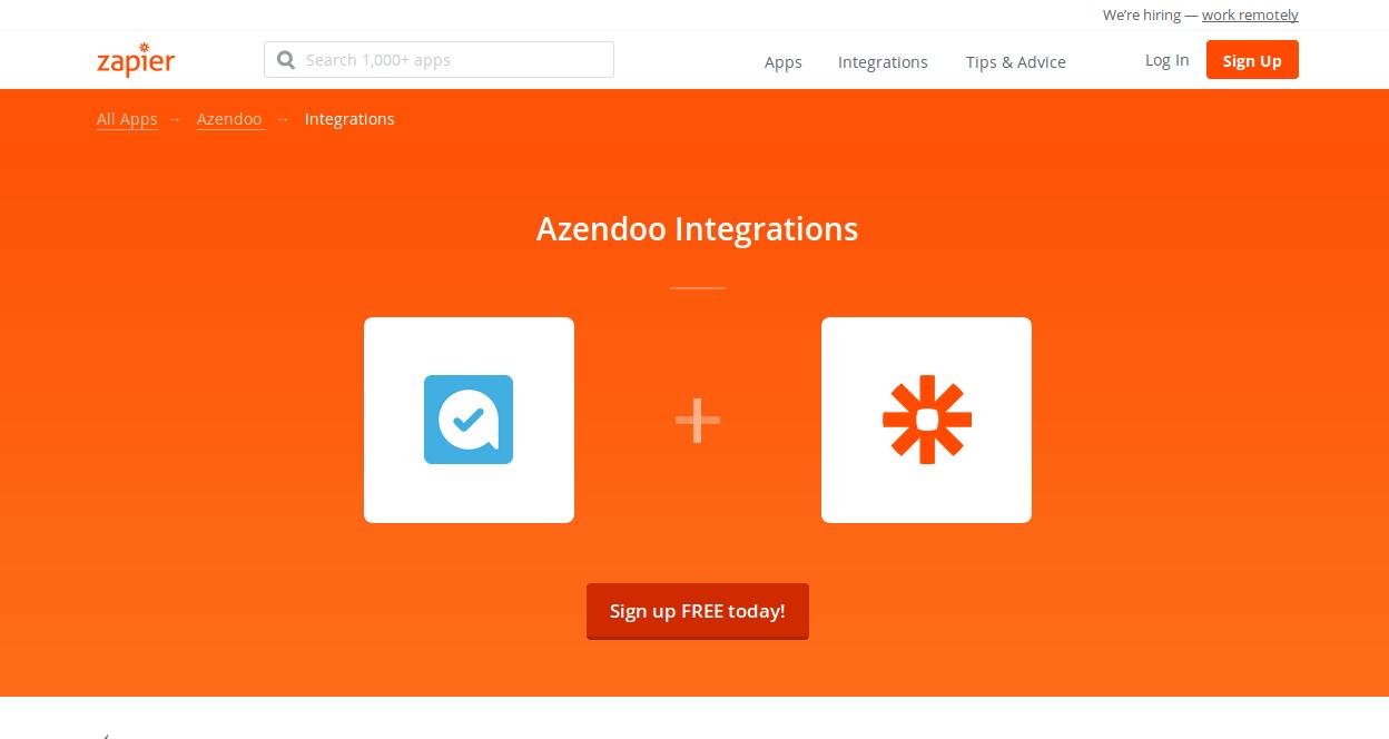 Azendoo Time Tracker