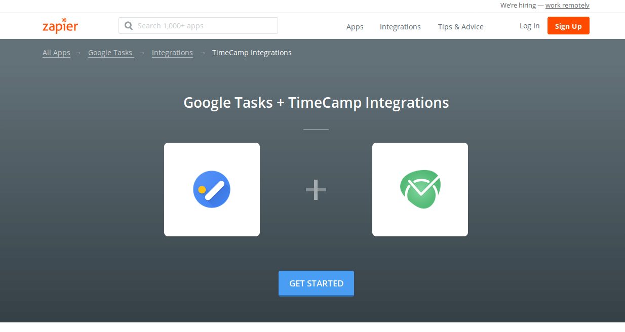 Google Task Time Tracker