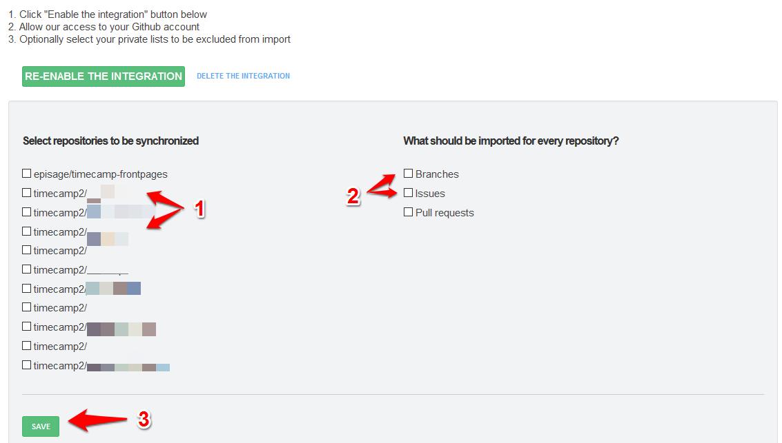Github Directly Time Tracker