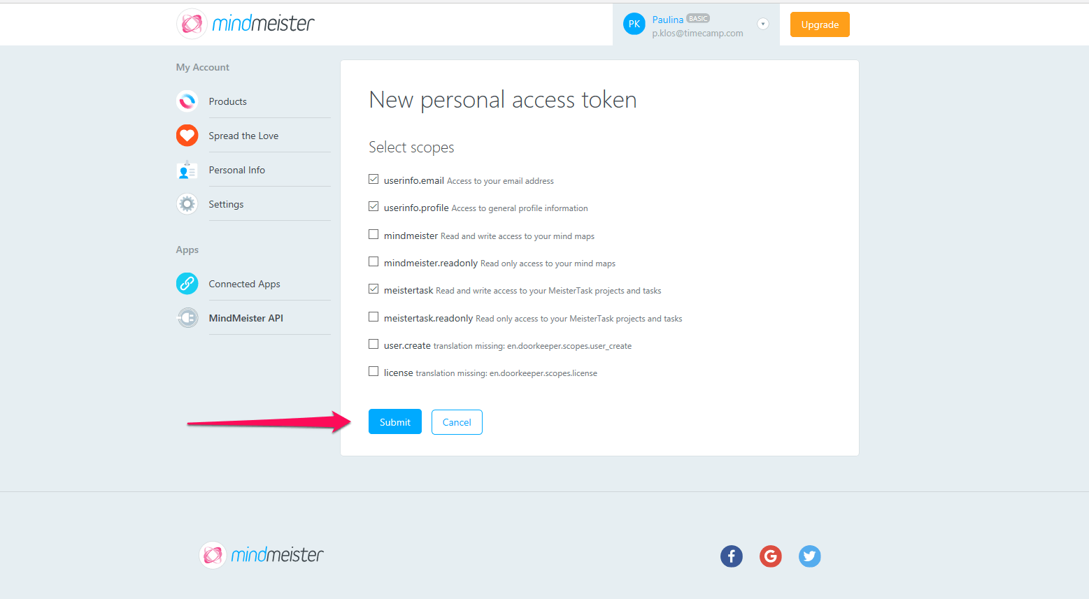 MeisterTask Time Tracker