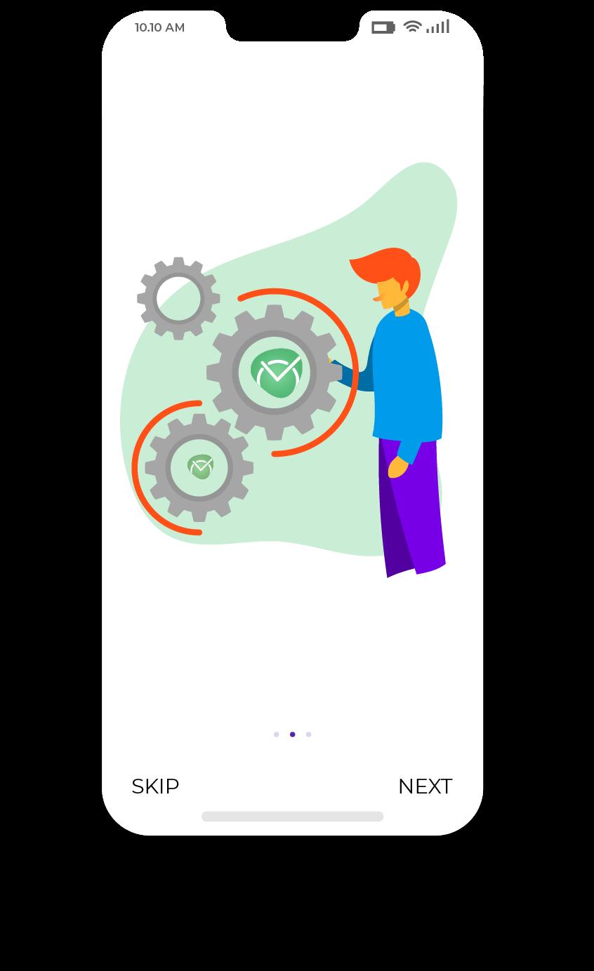 TimeCamp mobile app