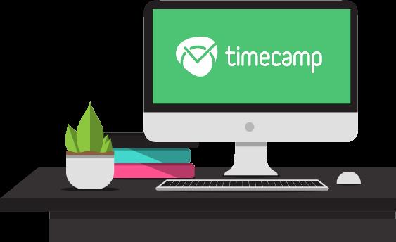 TimeCamp on desktop